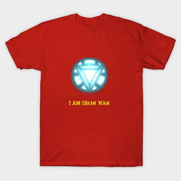 fd2fea55 I am Iron Man - Iron Man - T-Shirt   TeePublic