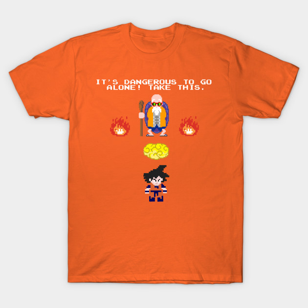 Dragon Ball Zelda T-Shirt-TOZ