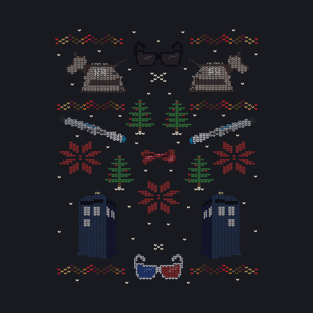 Ugly Doctor Who Christmas Sweater