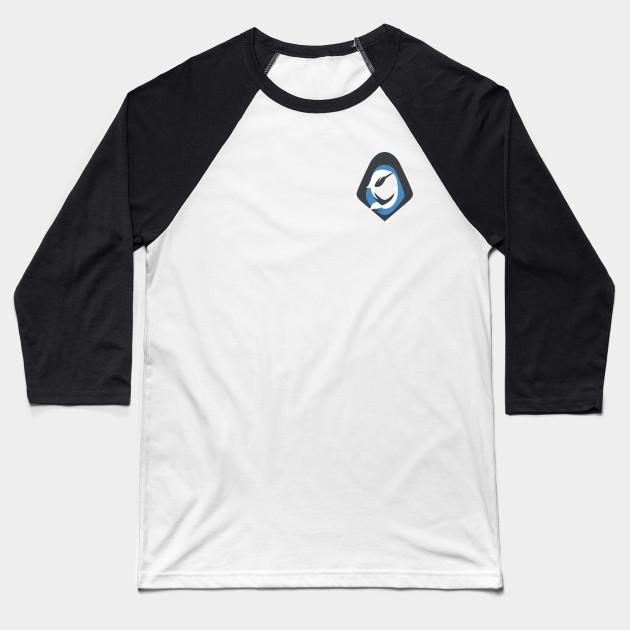 ed8772b5 Overwatch Ana Icon - Top Left Icon - Overwatch - Baseball T-Shirt ...