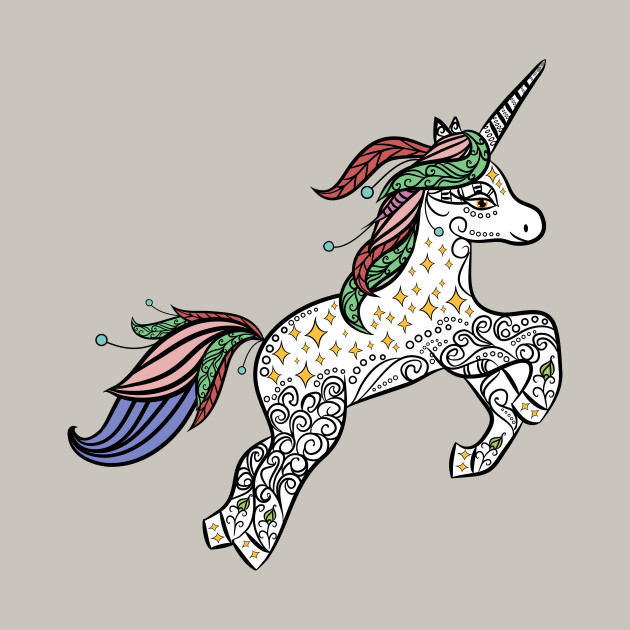Unicorns: Mystic & Magical Animals of The Forest