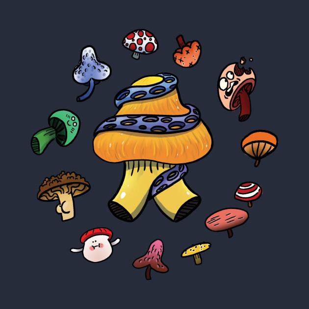 Magical Mushroom Circle