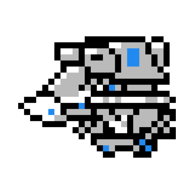 8bit VF-1A Super Valkyrie (fighter mode, Max colors)