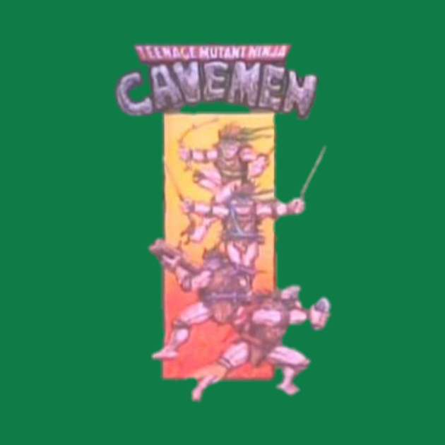 Dinosaurs - Teenage Mutant Ninja Cavemen