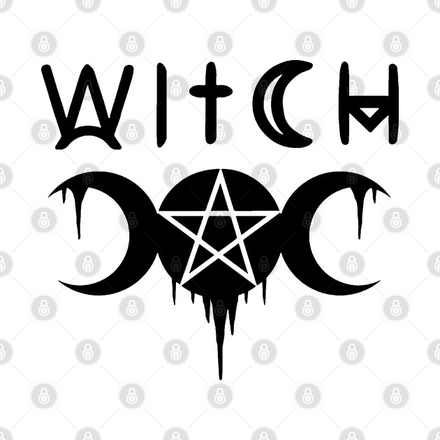 WICCA, WITCHY, WITCHCRAFT,  THE TRIPLE MOON
