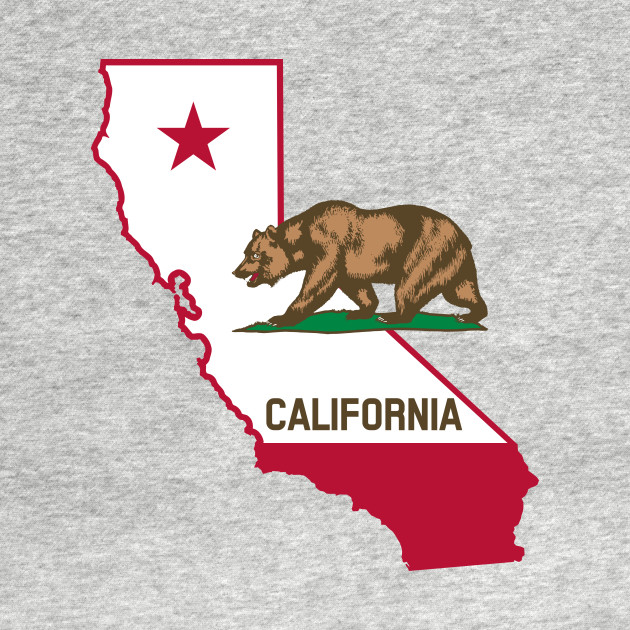 California Bear Flag Design