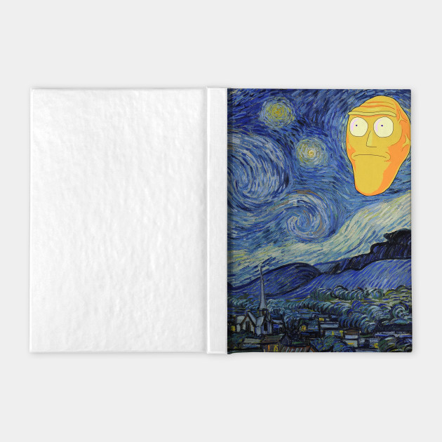 Rick and Morty Starry Night