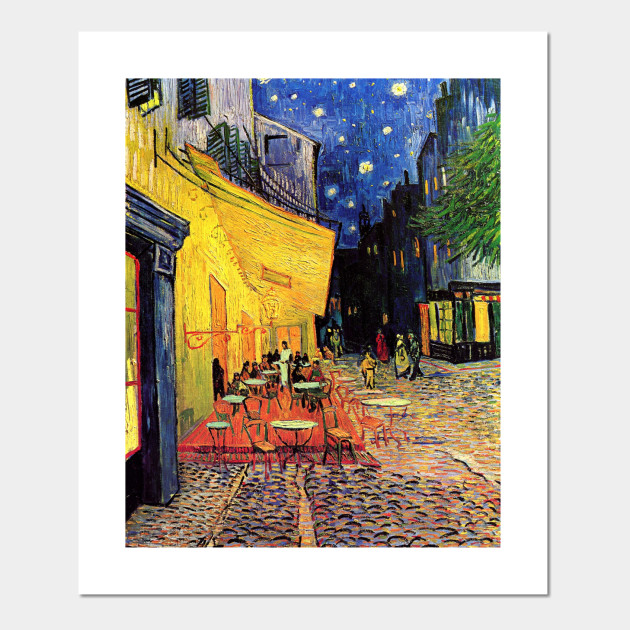 Night Cafe by Vincent van Gogh - Night Cafe - Posters and Art Prints ...