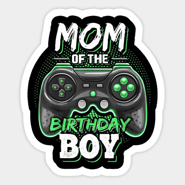 Mom of Birthday Boy Svg Gamer Mama png Mothers Gift for Son Birthday Mom of Gamer Boy Png Party Birthday Gamer Mom