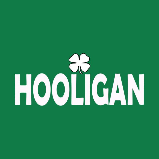 Irish Hooligan For St Patricks Day