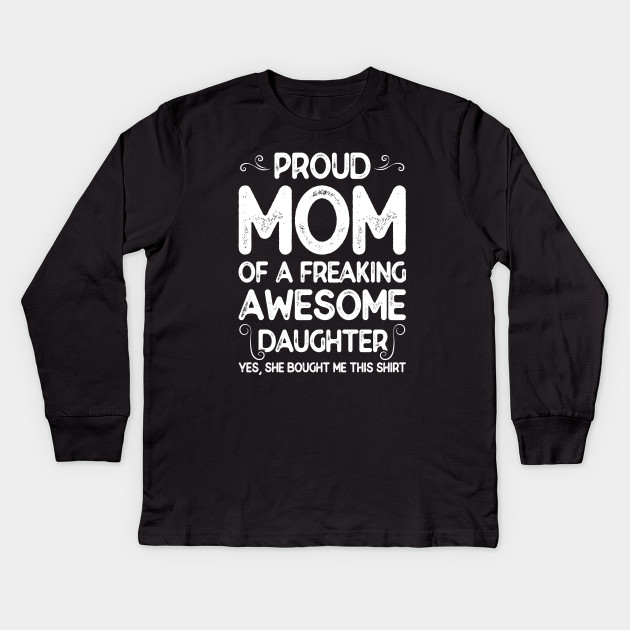 0a630c419 Funny Mother Daughter Shirt - Mom Daughter - Kids Long Sleeve T ...