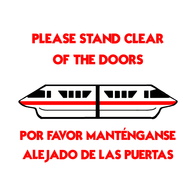 Monorail Warning: Red