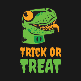 Happy Dino Trick or Treat t-shirts