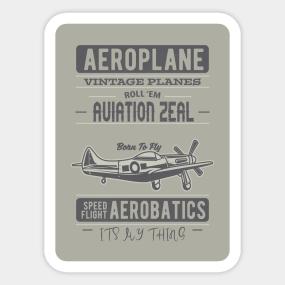 Aviation Stickers | TeePublic