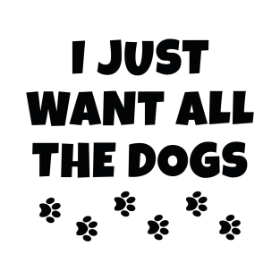 All The Dogs t-shirts