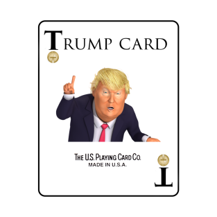 The Trump Card t-shirts