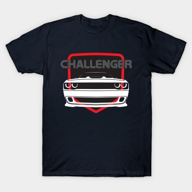 Dodge Challenger T-Shirt V2 Black