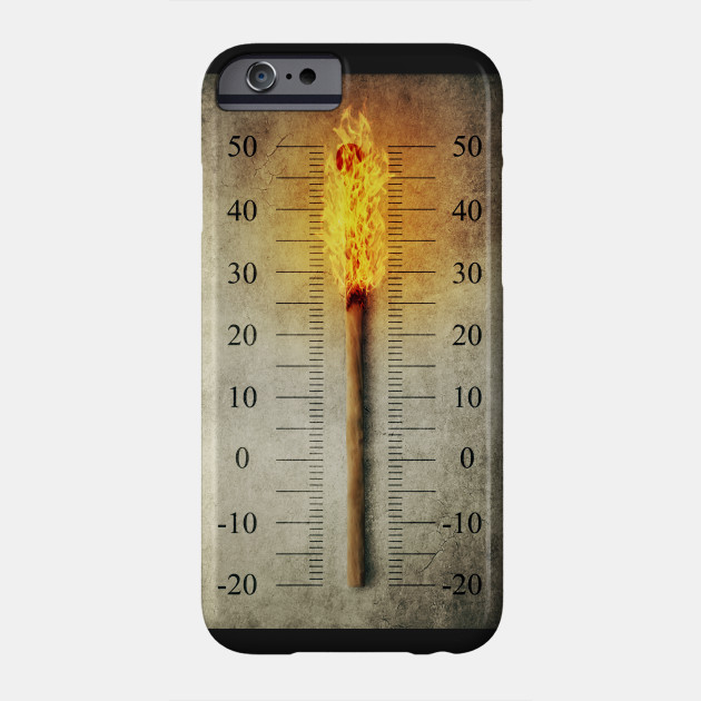 burning match thermometer