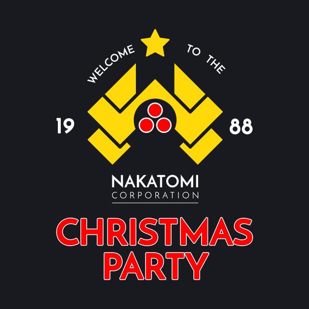 Nakatomi Corp Christmas Party 1988 T-Shirt