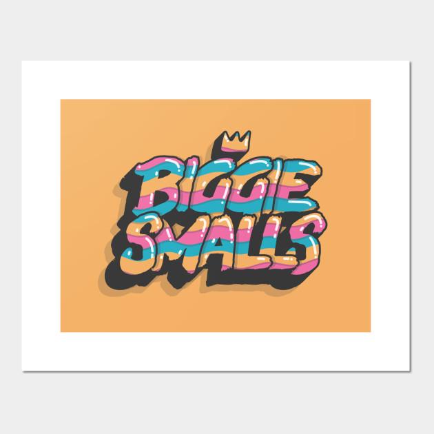 Biggie Smalls /'Biggie Smalls Is The Illest/' Poster or Art Print