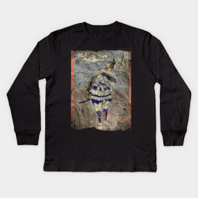 separation shoes f172b 2d37d Samurai Warriors Kids Long Sleeve T-Shirts   TeePublic