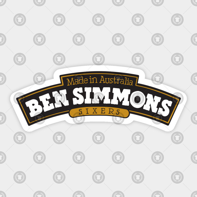 Cuscini Simmons.Ben Simmons Ice Cream Ben Simmons Adesivo Teepublic It