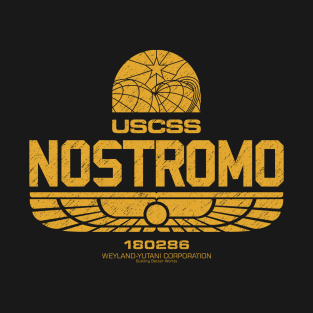 USCSS Nostromo - Alien movie t-shirts