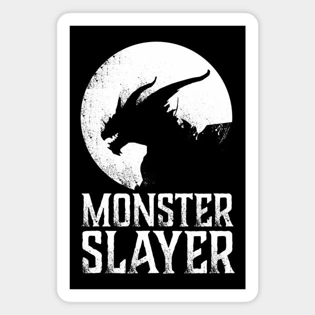 Monster Hunter Monster Slayer Monster Hunter Magnet Teepublic