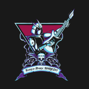 Born To Shred t-shirts