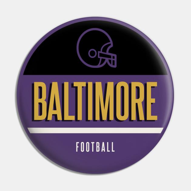 Baltimore retro football