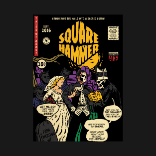 Square Hammer t-shirts