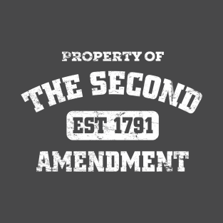 Property of The Second Amendment t-shirts
