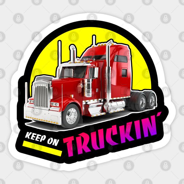 Keep on Truckin' Truck Driver Retro