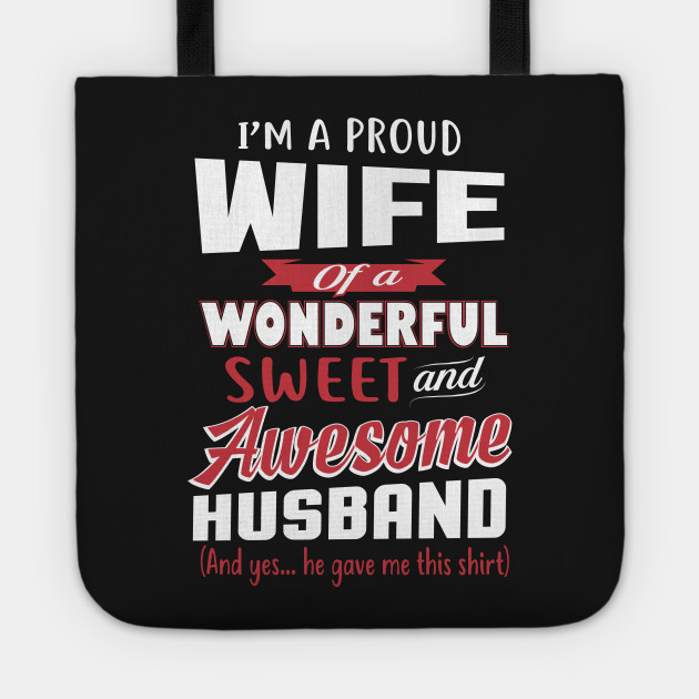 Funny Gift For Wife From Awesome Husband Birthday Tote