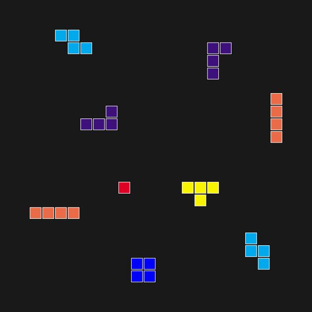 Tetris Scattered