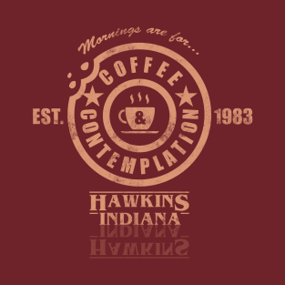 Coffee & Contemplation t-shirts