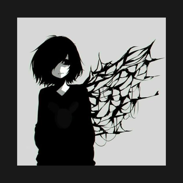 Sad Anime Girl Sad Anime Girl T Shirt Teepublic