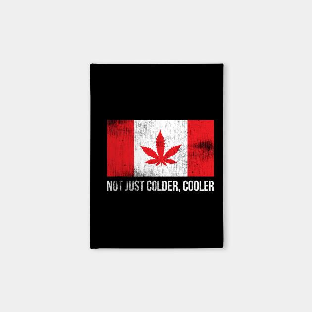 Funny Cannabis Canadian Flag Marijuana Leaf