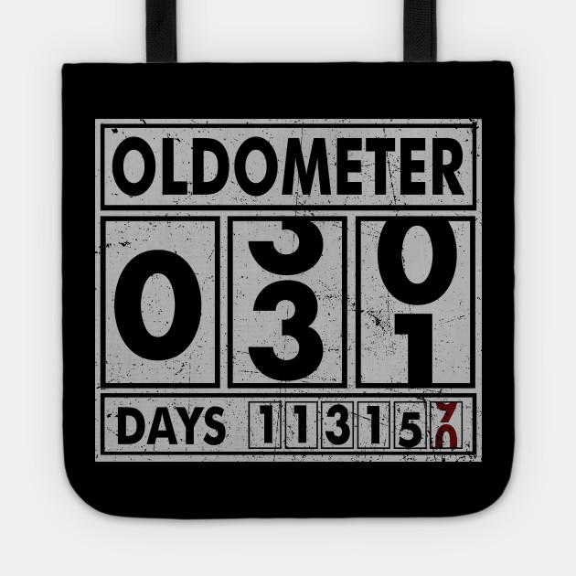 OLDOMETER 31 Years Old Made In 1987 31st Birthday