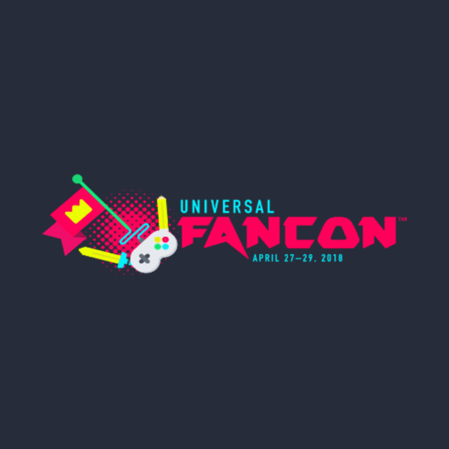 Universal FanCon Logo Tee