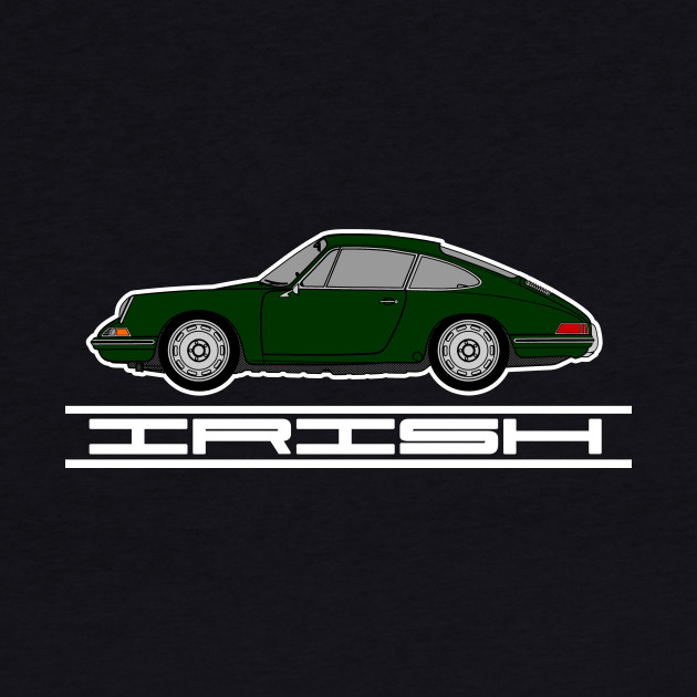 Irish (Green) Pride T-Shirt - Porsche 911