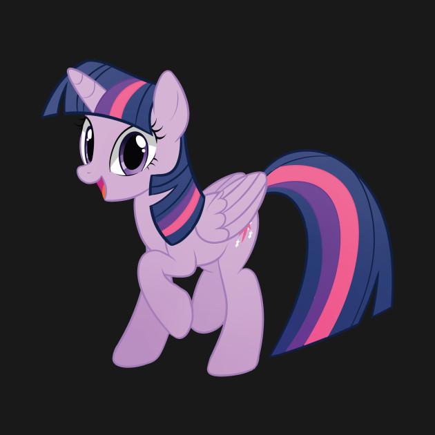 Magical Purple Book Horse