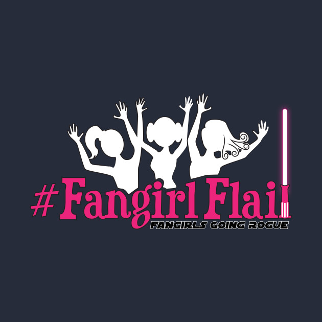 #FangirlFlail! Tee for Dark T-Shirts!