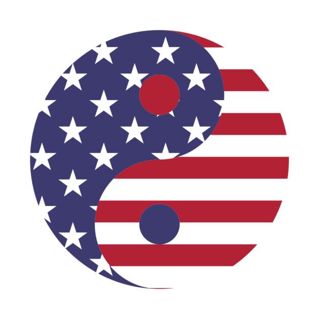 USA Yin Yang