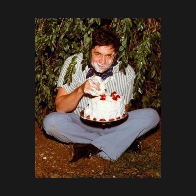 Johnnys Birthday Johnny Cash T Shirt Teepublic