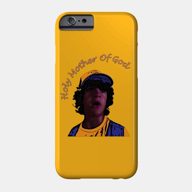 Dustin Henderson Design, Stranger Things Series, Holy Mother Of God Phone Case