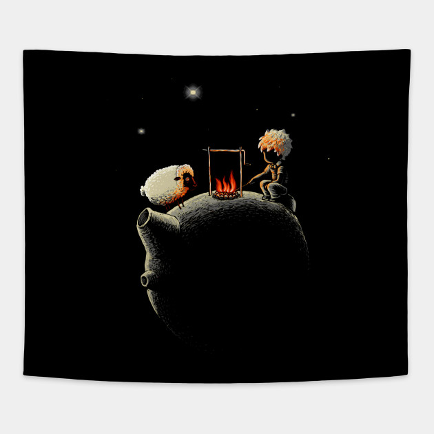 Draw Me A Sheep Hungry Of Midnight Tapestry Teepublic