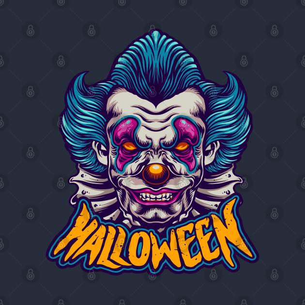 halloween character scary clown - Halloween Scary Clown ...