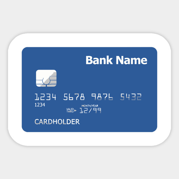 96a005e0a08 LIMITED EDITION. Exclusive Credit Card (Front) - Credit Card Front ...