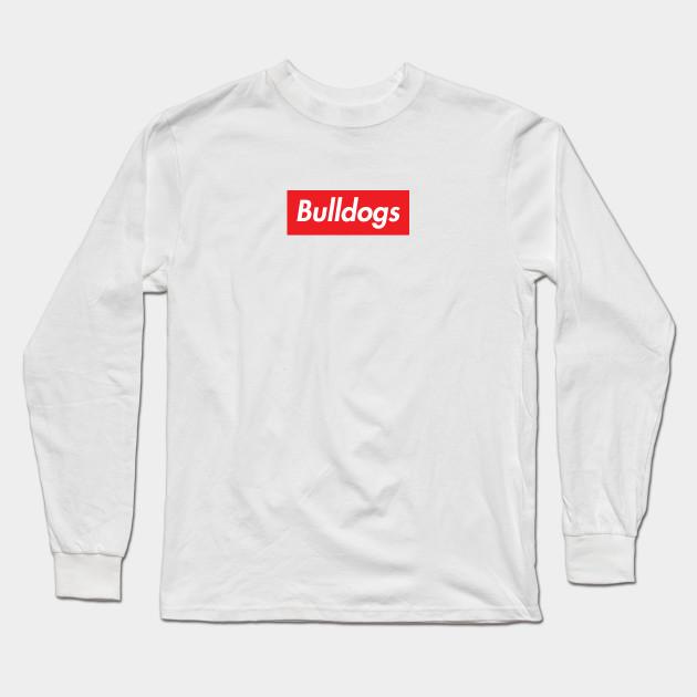 83f12477 Supreme Bulldogs - Supreme Bulldogs - Long Sleeve T-Shirt   TeePublic